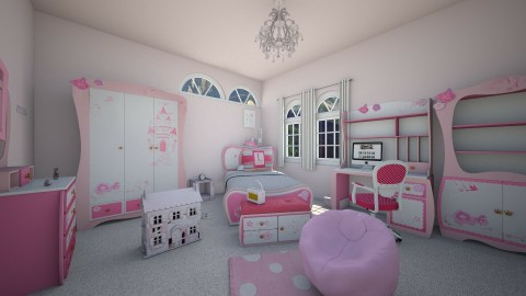 Tania 2 - Bedroom - by moosierawwr