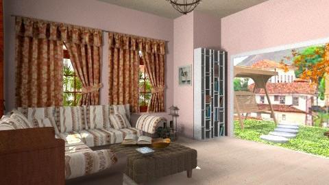 Barroco - Living room - by jujulianamara