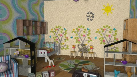 Baby room, play room - Classic - Kids room - by kivendoyle