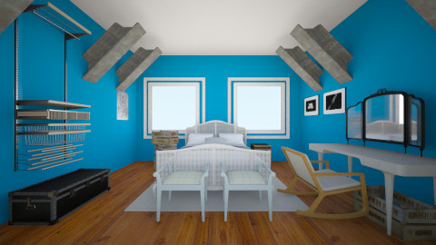 turquoise  - Modern - Bedroom - by LAS95