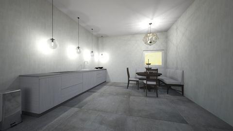 Quiet Dining - Modern - Kitchen - by Intricate