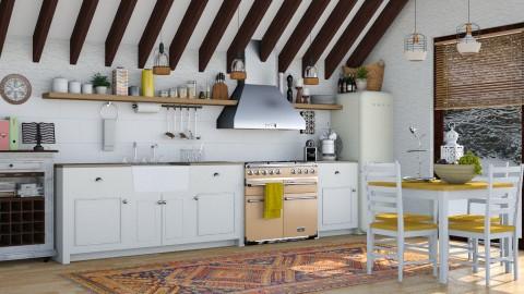 Cottage - Country - Kitchen - by katarina_petakovi
