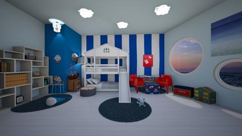 Kid ship room - Bedroom - by ashpashly