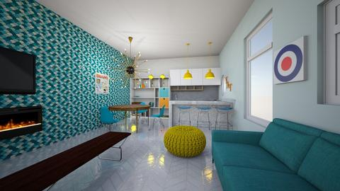 Tiny Electric House - Eclectic - by hellothere1515