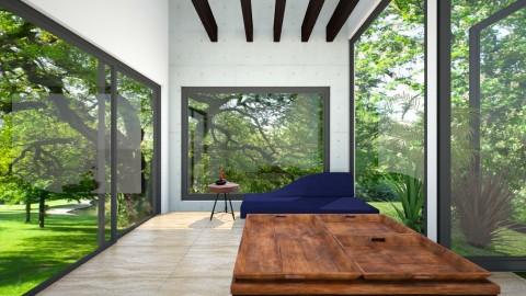 VIVIENDA MINIMA RENDER 1 - Living room - by cecyayala