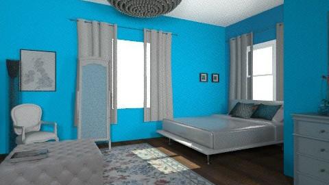Karran - Retro - Bedroom - by SariJo