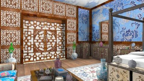 Li Yuqin Bedroom - Classic - Bedroom - by Bibiche