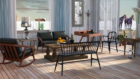 last frontier - Rustic - Living room - by anchajaya