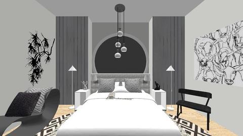 _ 1 _ - Minimal - Bedroom - by shaipayyy