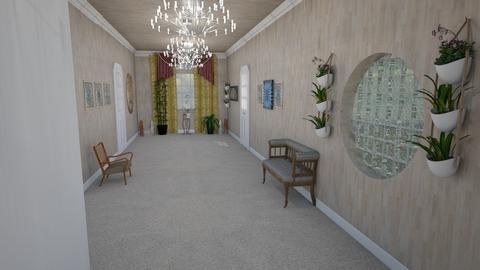 Meditation Hallway - Glamour - by alonatech_2nd