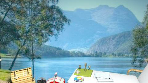 A picnic by the lake - Classic - Garden - by milyca8