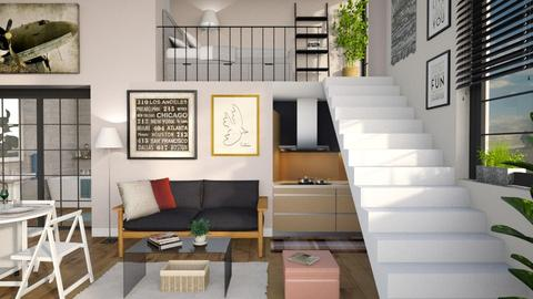 One Room Apartment 3 - by Sally Simpson