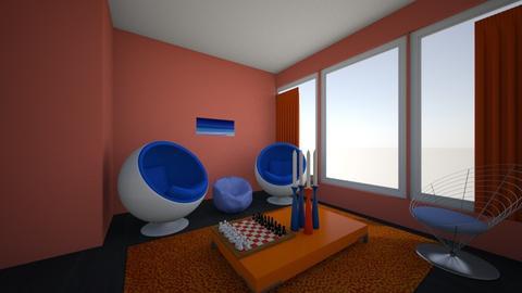 Strange curves - Modern - Living room - by Ohtoe