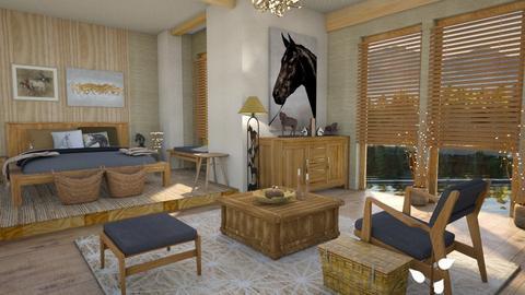 Horses - Bedroom - by Moonpearl