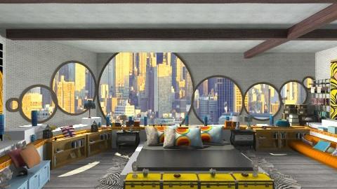 New York apartment  - Modern - Bedroom - by ladyfakessi