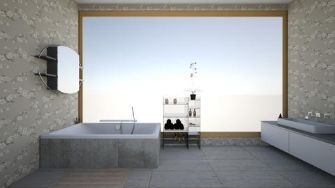 two - Bathroom - by LucaIdunstri