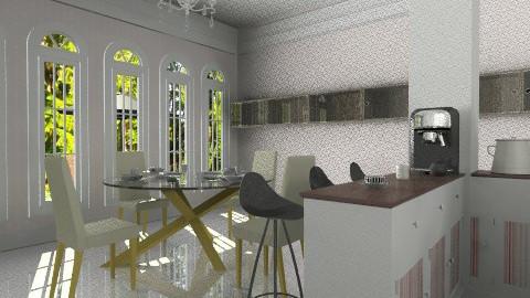 Mrs Nice dining room - Feminine - Dining room - by nixxatheya