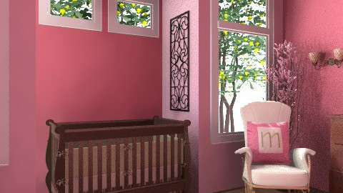 Baby Girl H - Feminine - Kids room - by egrimsley