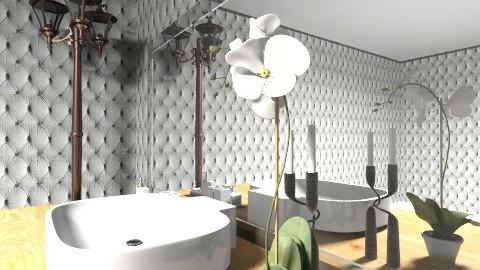 modern bathroom 3 - Modern - Bathroom - by mslmkus