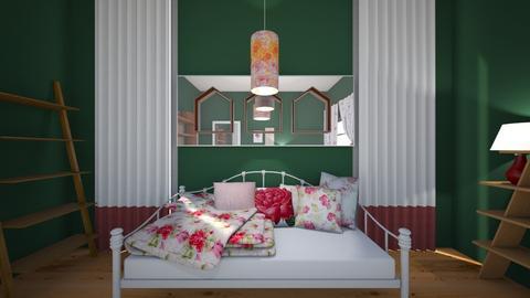 Roomy Rose - Feminine - Bedroom - by XiraFizade
