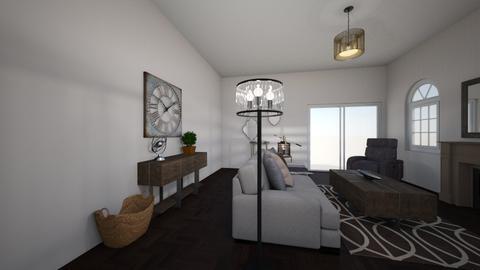 Rustic Modern - Living room - by henrynader