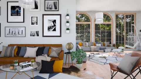 bohemian  - Living room - by waibelmackenzie
