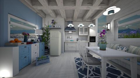 Nautical Kitchen - by Themis Aline Calcavecchia