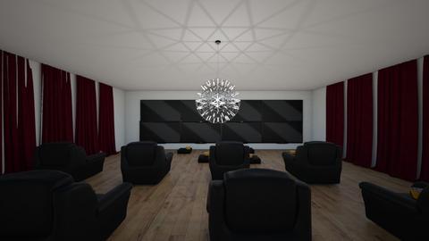 Movie Room - by Margofiora