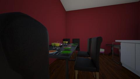 my dream kitchen - Modern - Kitchen - by odeca01