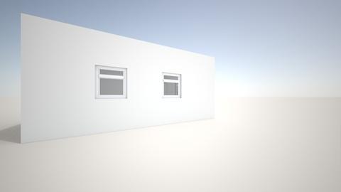 PROYECTO 1 - Rustic - Bedroom - by Hector Catalan