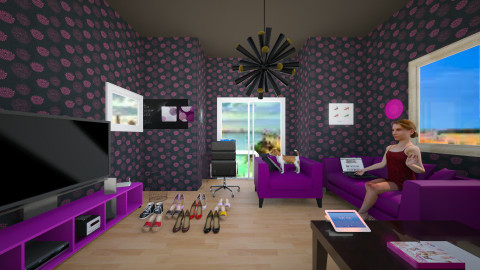 Office Salon - Modern - by stauroula
