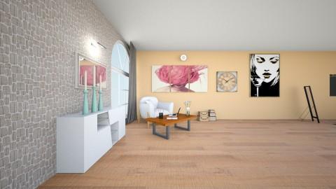 tv - Dining room - by torinoartenn