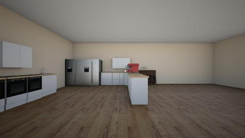 salon cocina evidencie - Living room - by LUISSS