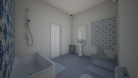 bathroom - Modern - Bathroom - by lala is awesome