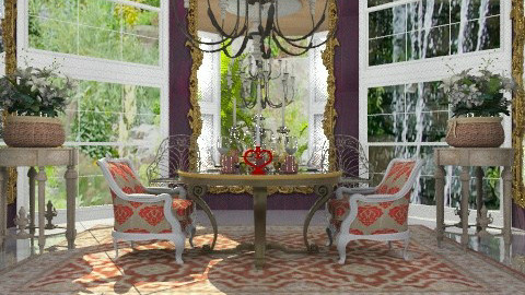 Romance with the nature... - Glamour - Dining room - by Your well wisher
