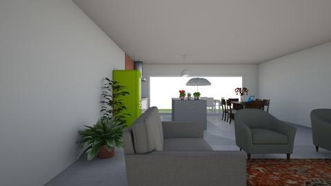 Gelijkvloers Plan B 8 - Kitchen - by pixie_16