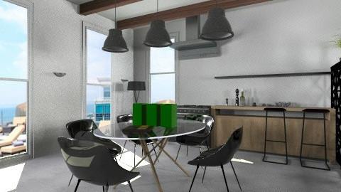 cocina lujo - Minimal - Kitchen - by pablotorr