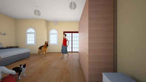 room - Modern - Bedroom - by Shanda Fletcher