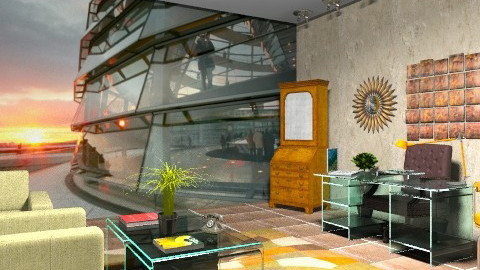 Our corporate office - Vintage - Office - by wiljun