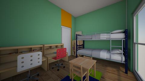 kids3 - Kids room - by kadmos7777