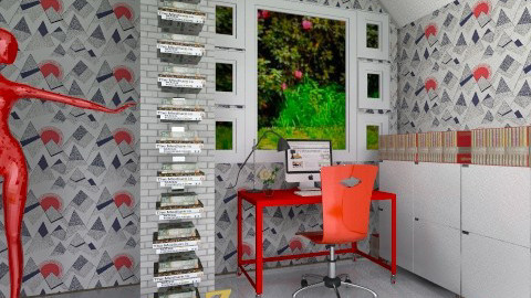 Modern Study Room 1 - by JezzPearl