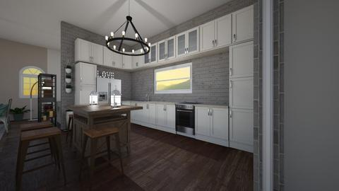 Farmhouse Kitchen - Kitchen - by neverlanddesigns