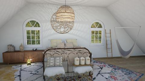 Peaceful Boho  - Rustic - Bedroom - by Yate