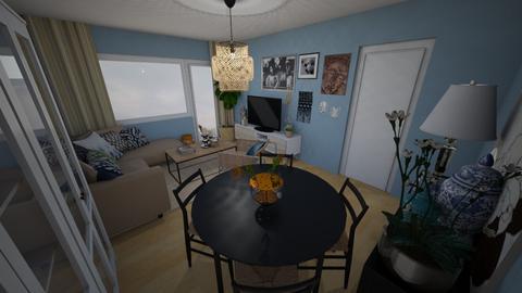 Pokoj inny kolor 3 - Living room - by donnamaddalena