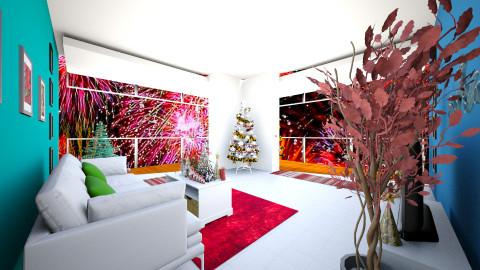 BAMZ christmast day - Glamour - Living room - by abraham samangun