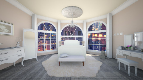 royal - Vintage - Bedroom - by Anastasia Baier