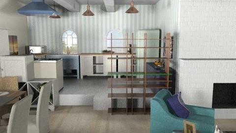 Laura Porter - Modern - Living room - by phatpiggy13