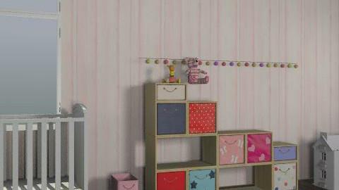 princess nursery - Glamour - Kids room - by 21chels