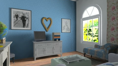 clashing  - Classic - Living room - by kayleighsteel