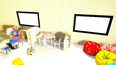 servicio - Eclectic - Kids room - by Windi